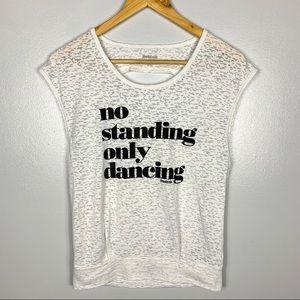 REEBOK No Standing Only Dancing T-shirt